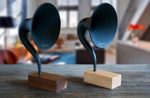 蓄音機型Bluetoothスピーカー「Gramovox」3.jpg