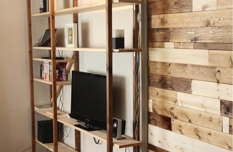 【賃貸DIYブログ】壁にピッタリサイズの大きなお洒落な飾り棚の作り方。良い感じのできた…! | iPhone・Macの情報発信ブログ