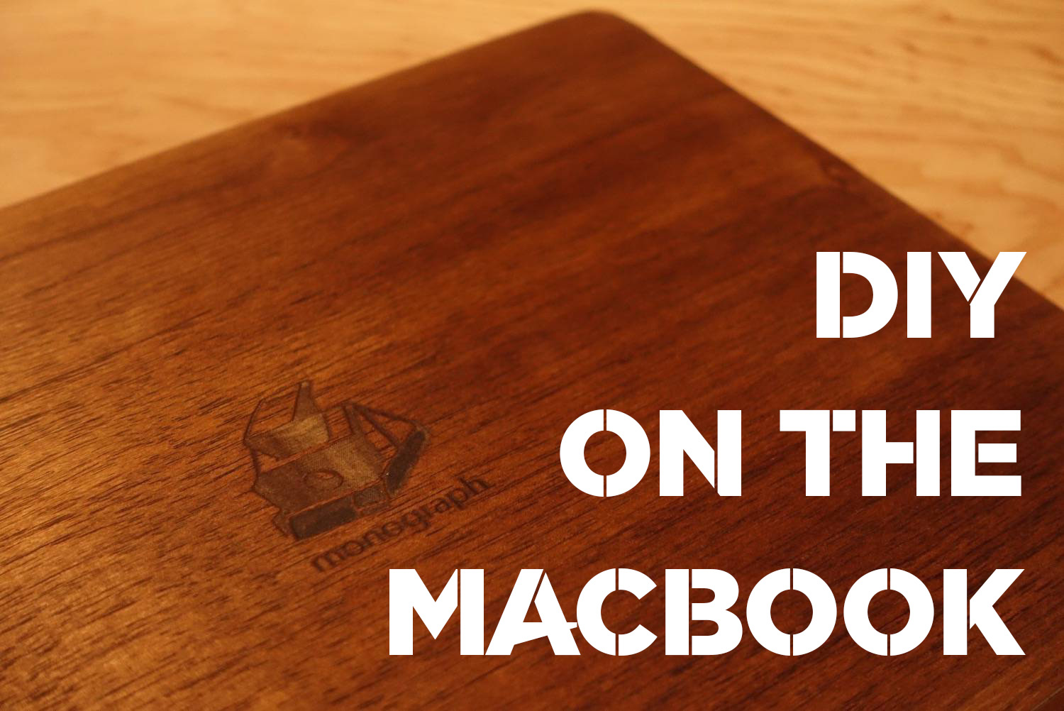 Macbook woodskintop