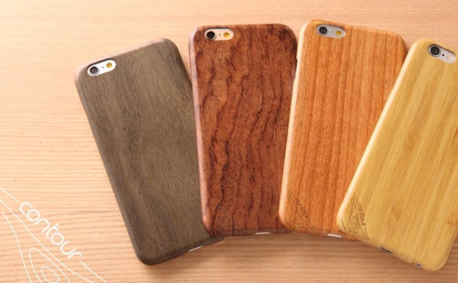 Iphone woodcase contour4