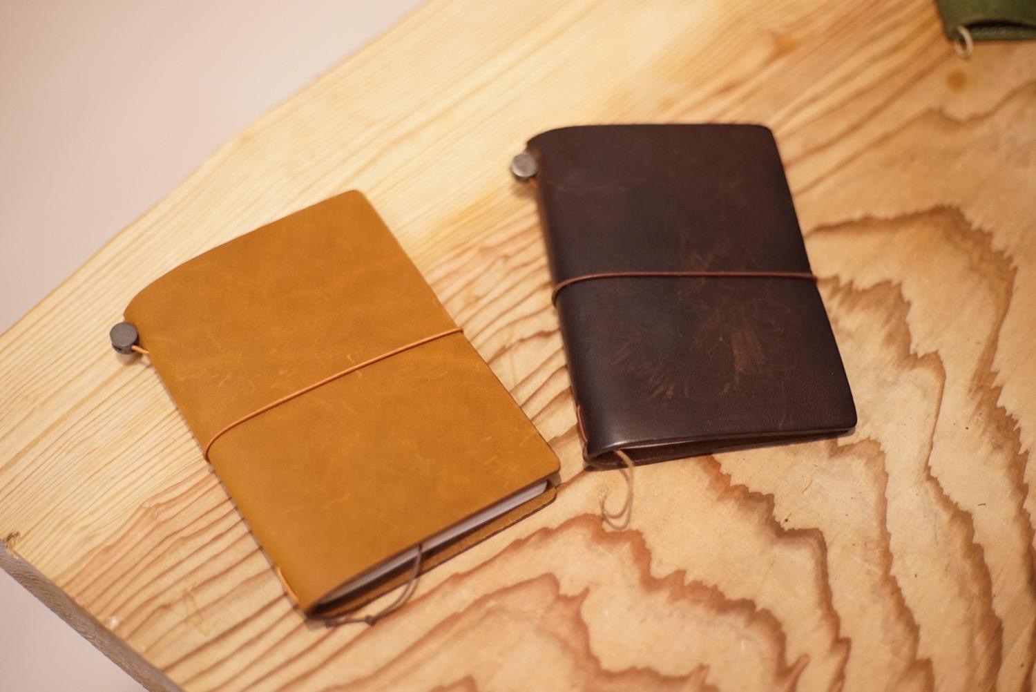 Travelers notebook camel11