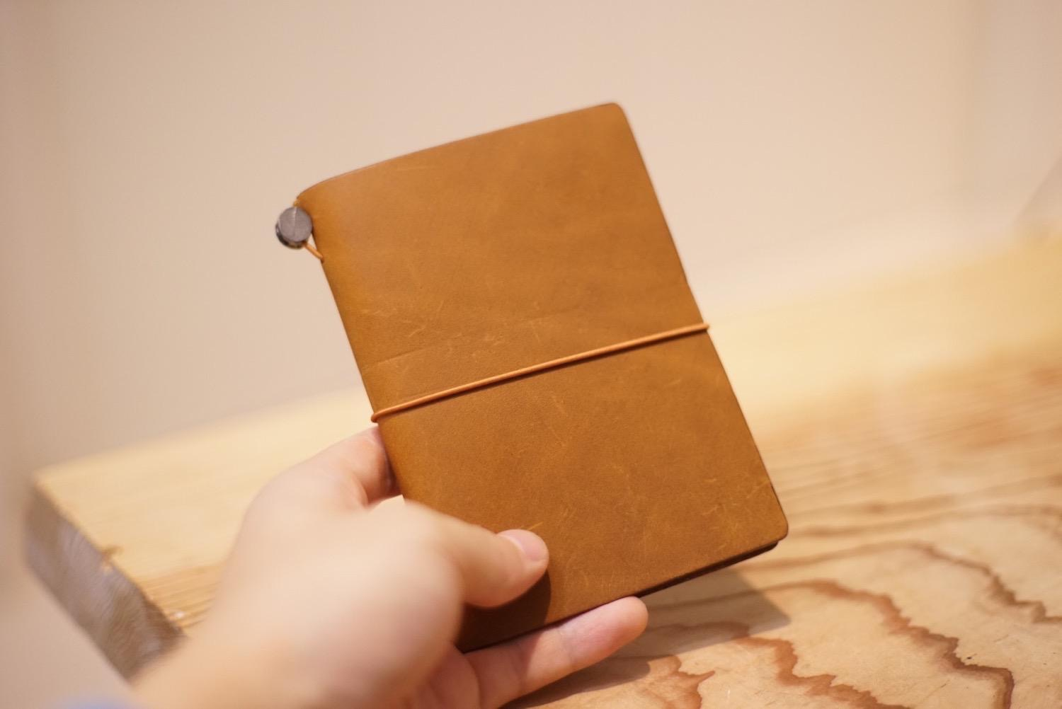 Travelers notebook camel8