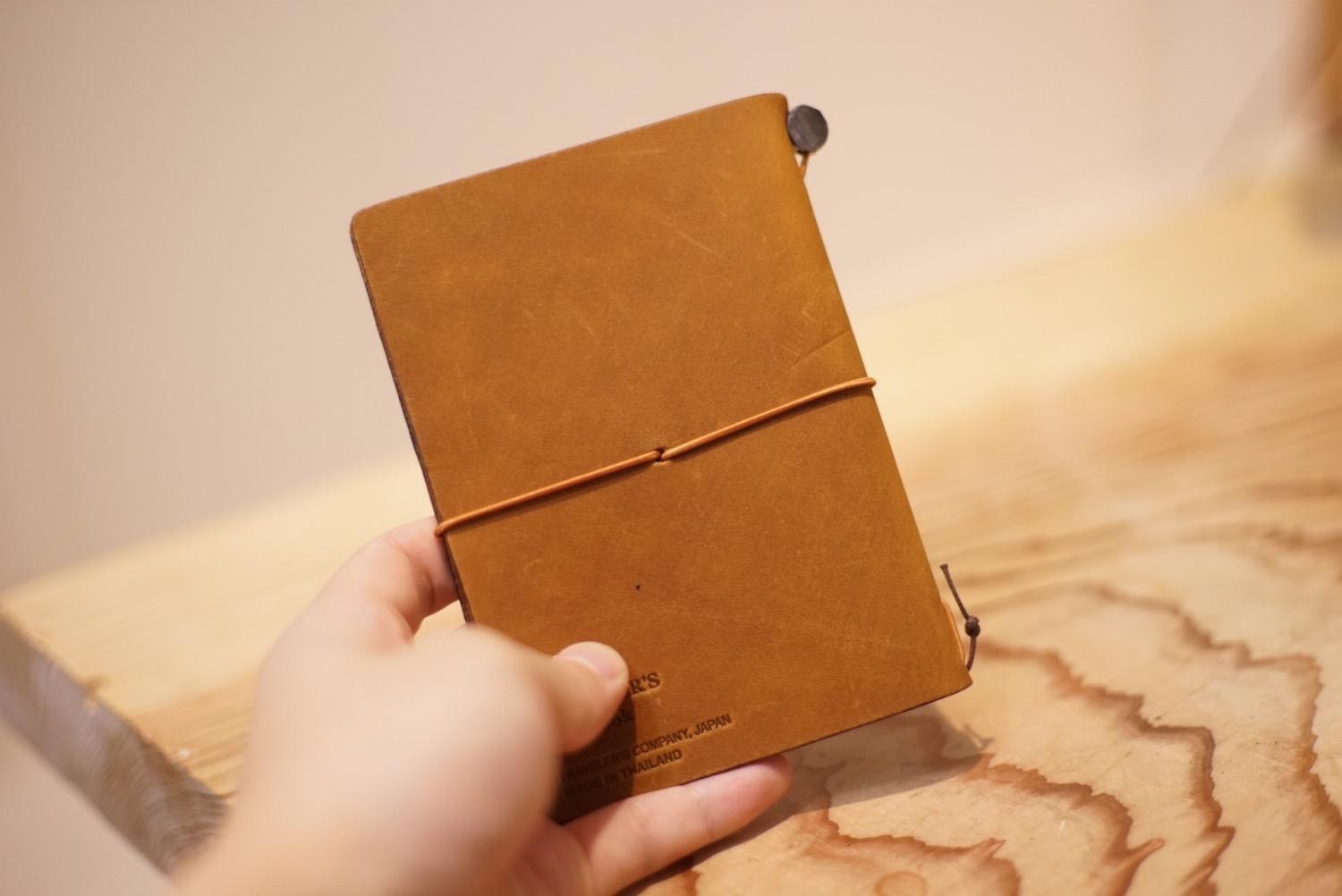 Travelers notebook camel9