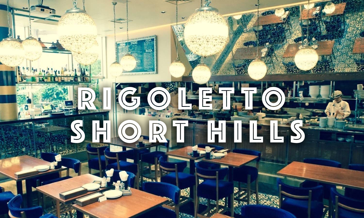 Nakameguro cafe RIGOLETTO SHORT HILLS Top