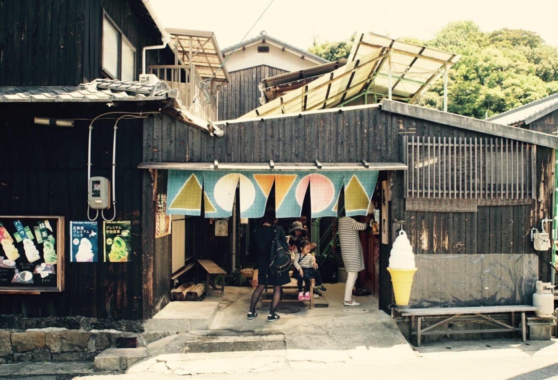 Naoshima noren1