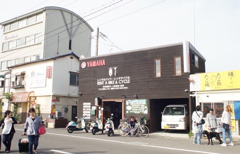 Naoshima rentalcycle1