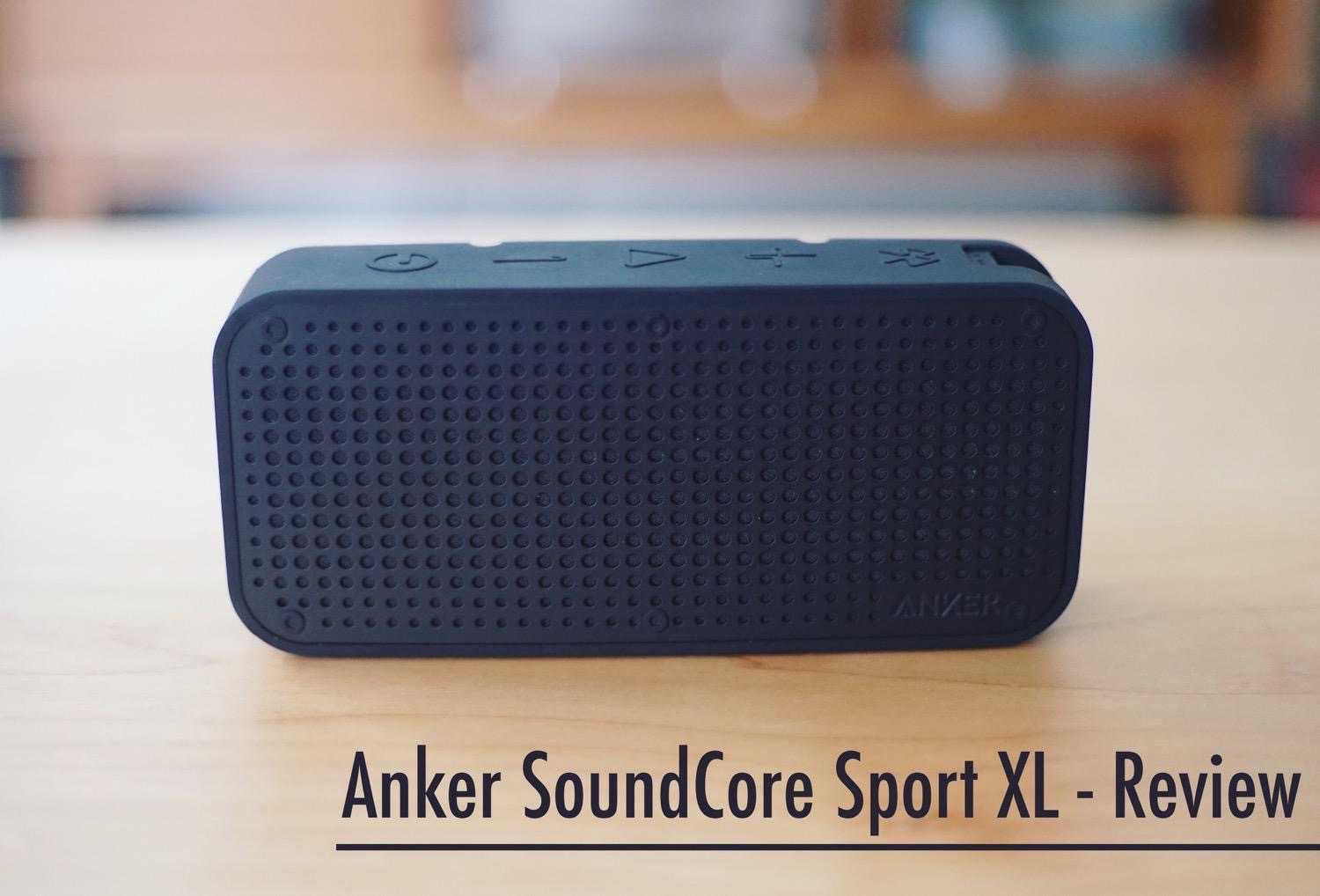 Anker SoundCore Sport XL review16