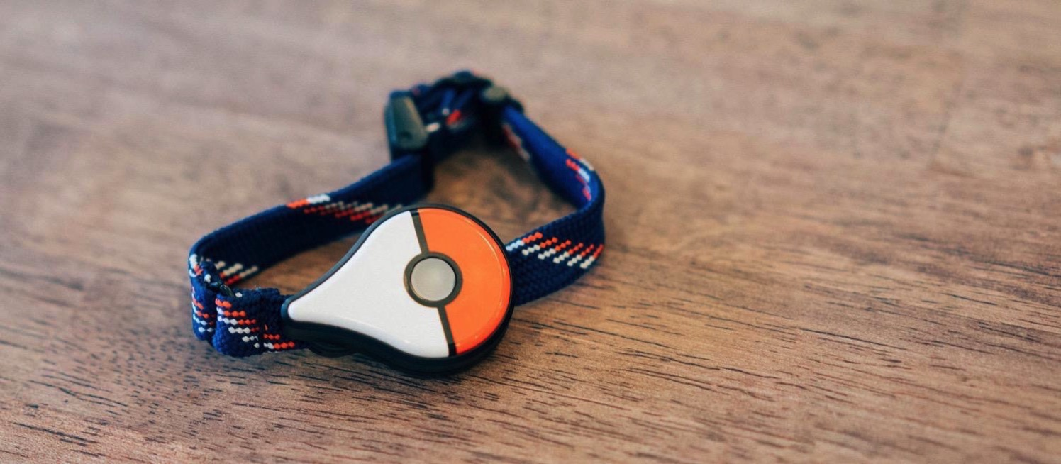 Pokemon go plus skin wood 10