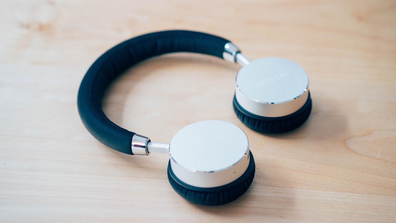 Satechi aluminum wireless headphone 19