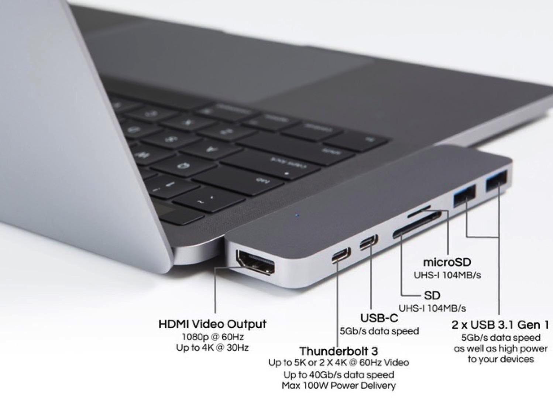 HyperDrive usb c hub 2