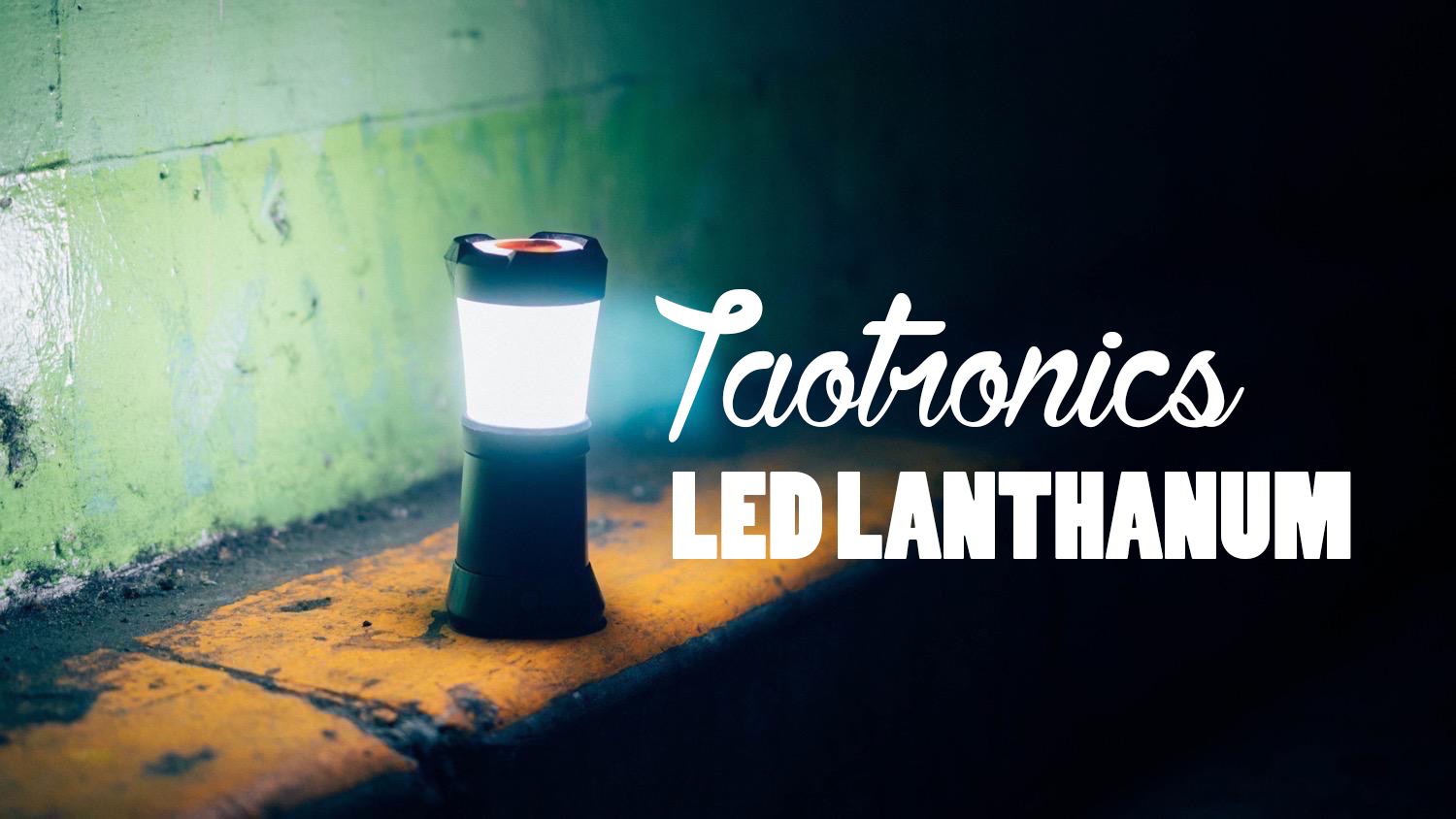 Taotronics led lanthanum TOP