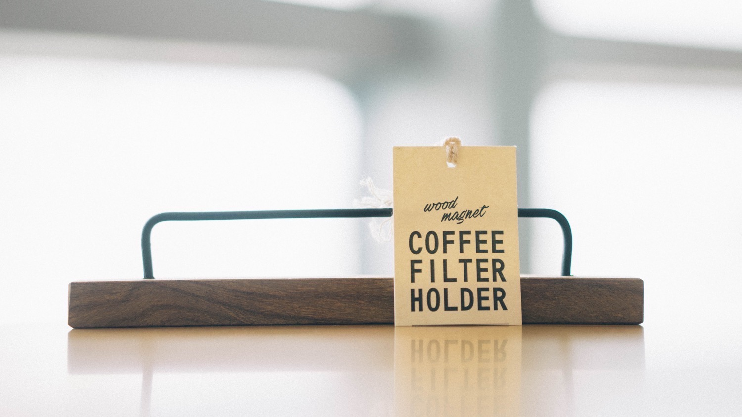 Coffee fileter holder 2