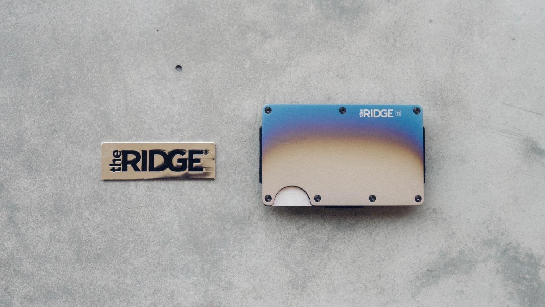 The ridge 7