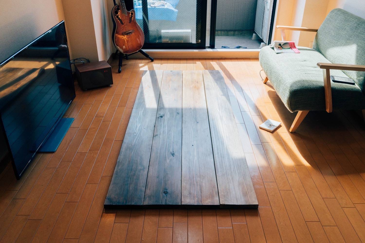 Diy big wood table 18