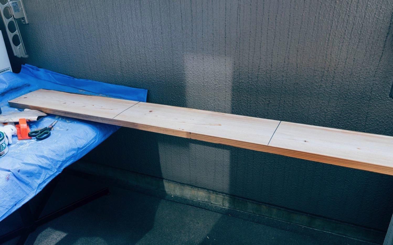 Diy big wood table 20
