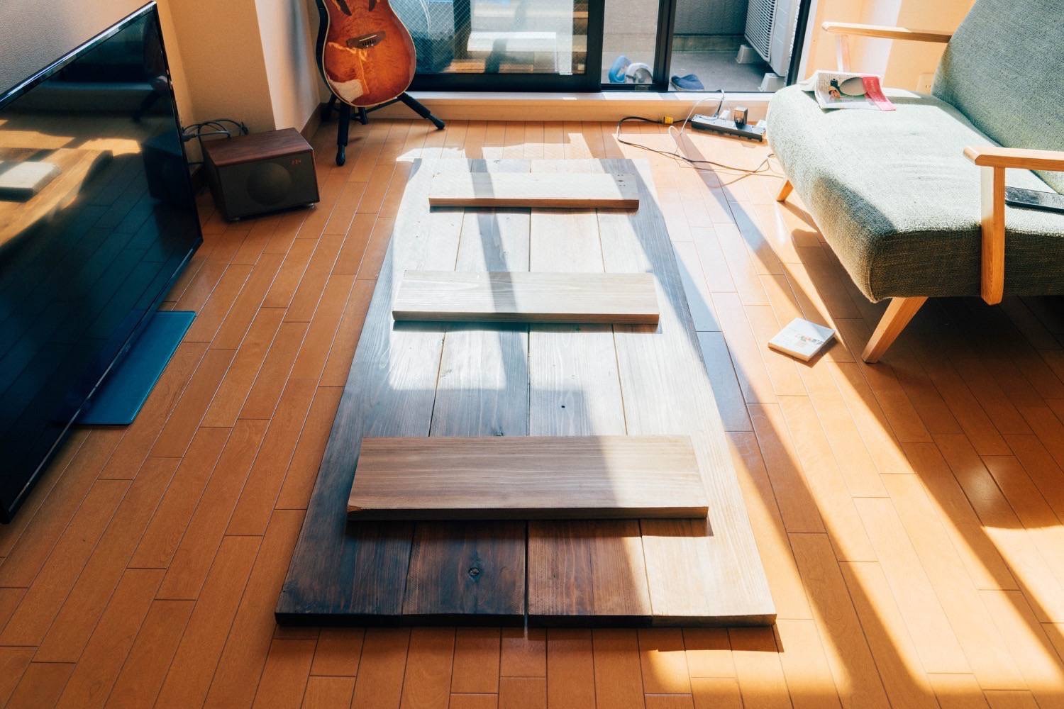 Diy big wood table 21