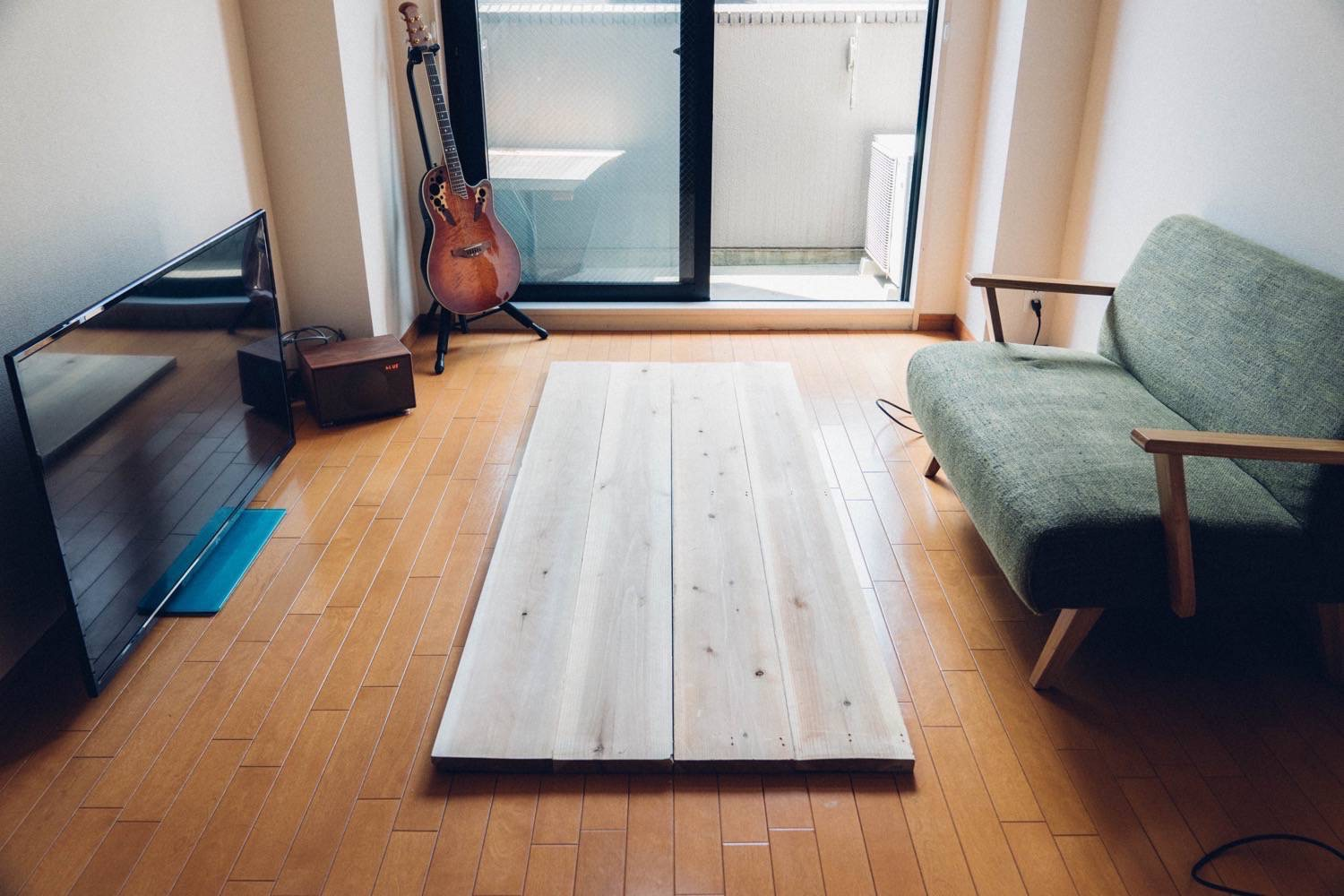Diy big wood table 3