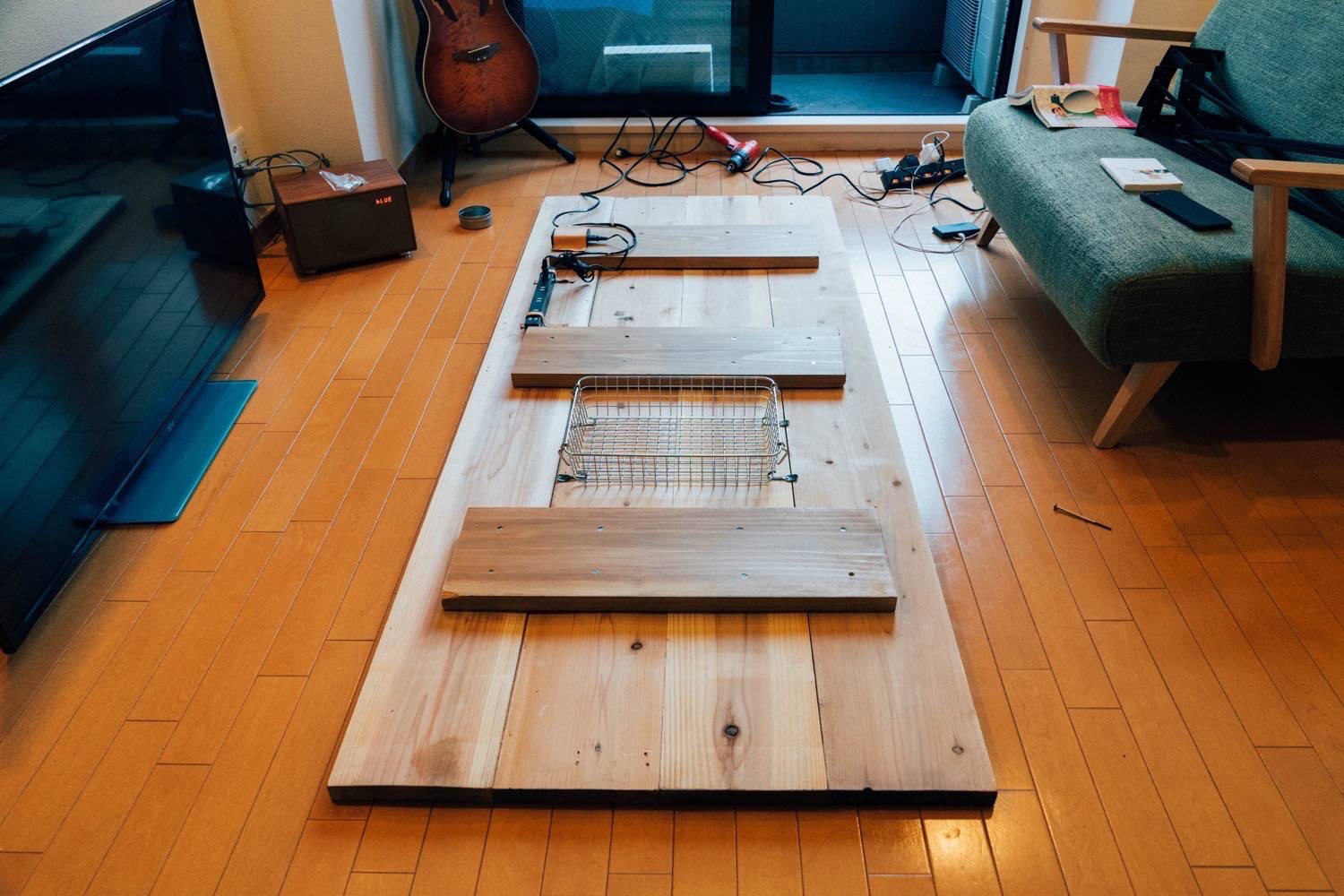 Diy big wood table 30