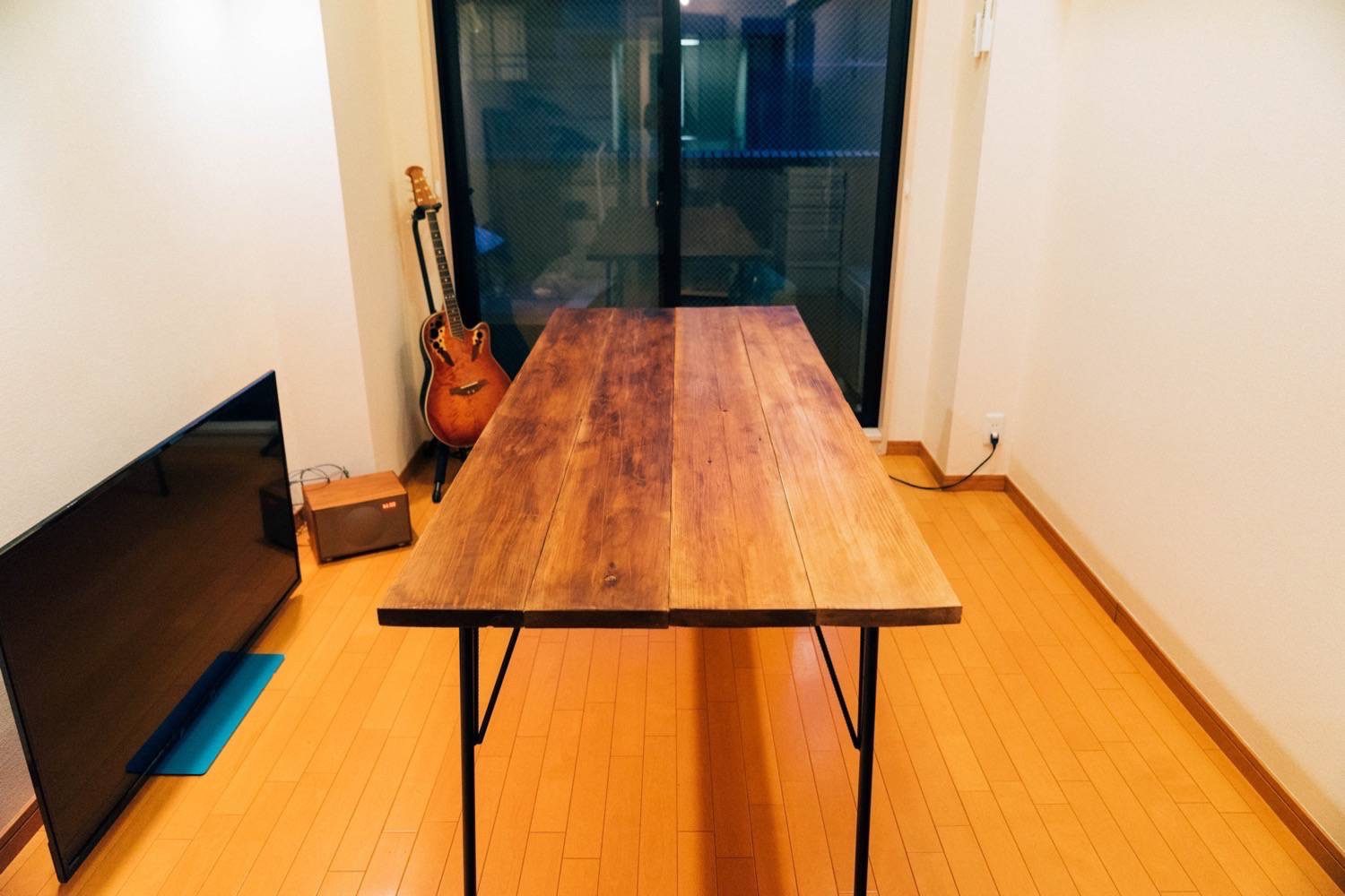 Diy big wood table 35