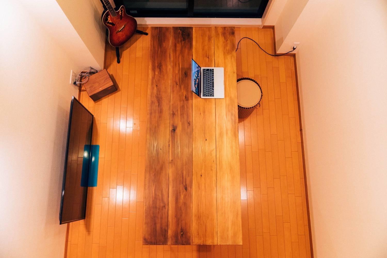 Diy big wood table 38
