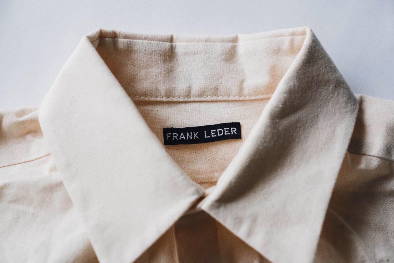 FRANK LEDER VINTAGE BEDSHEET OLD STYLE SHIRT 2