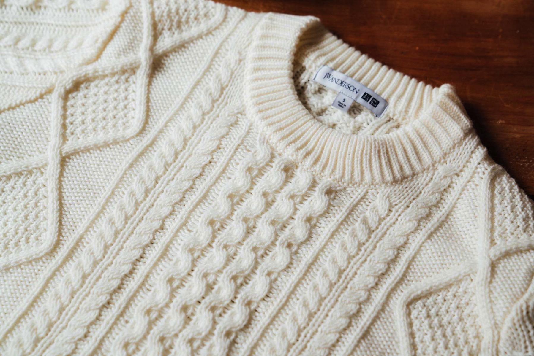 Uniqlo jw anderson wool 1