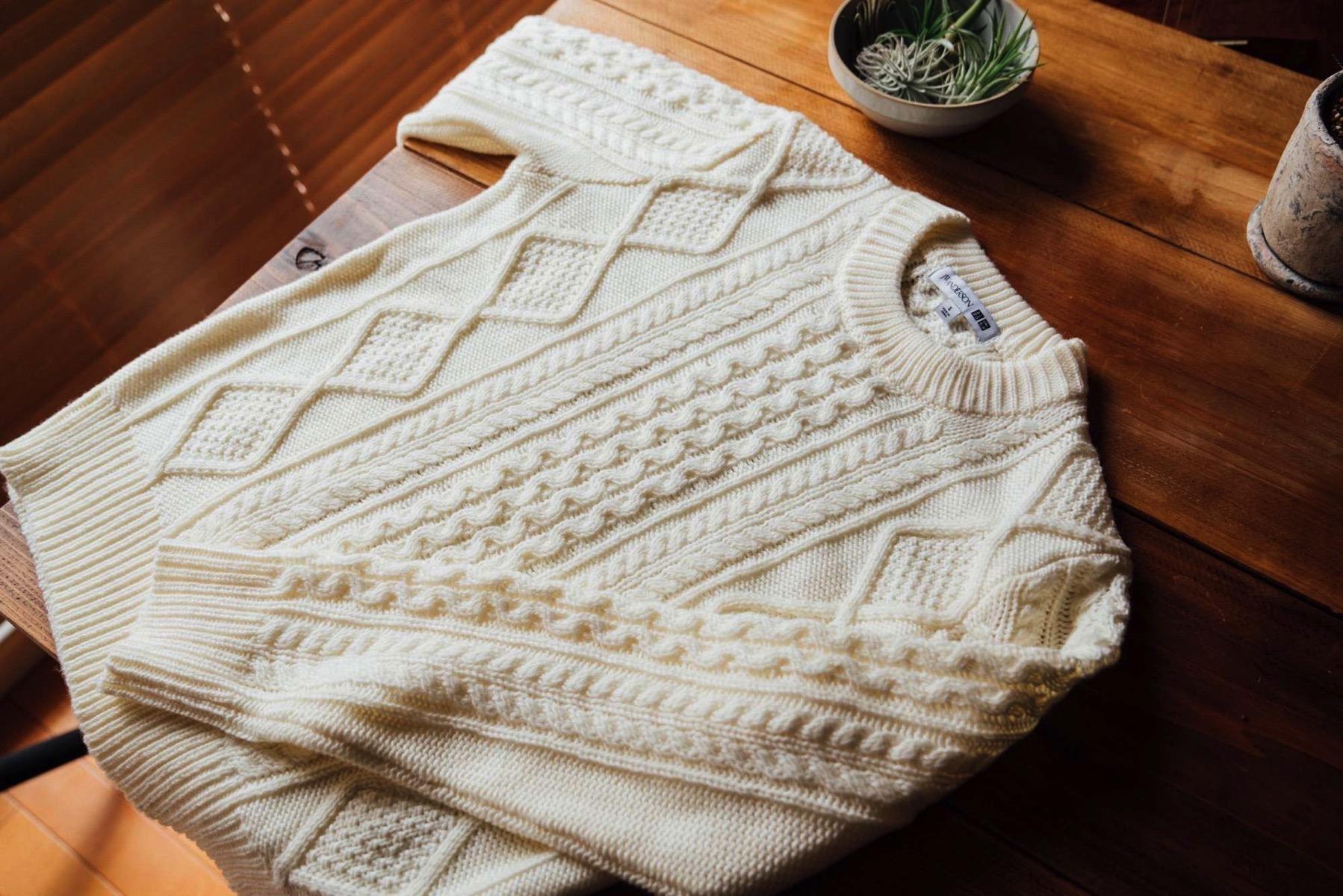 Uniqlo jw anderson wool 2