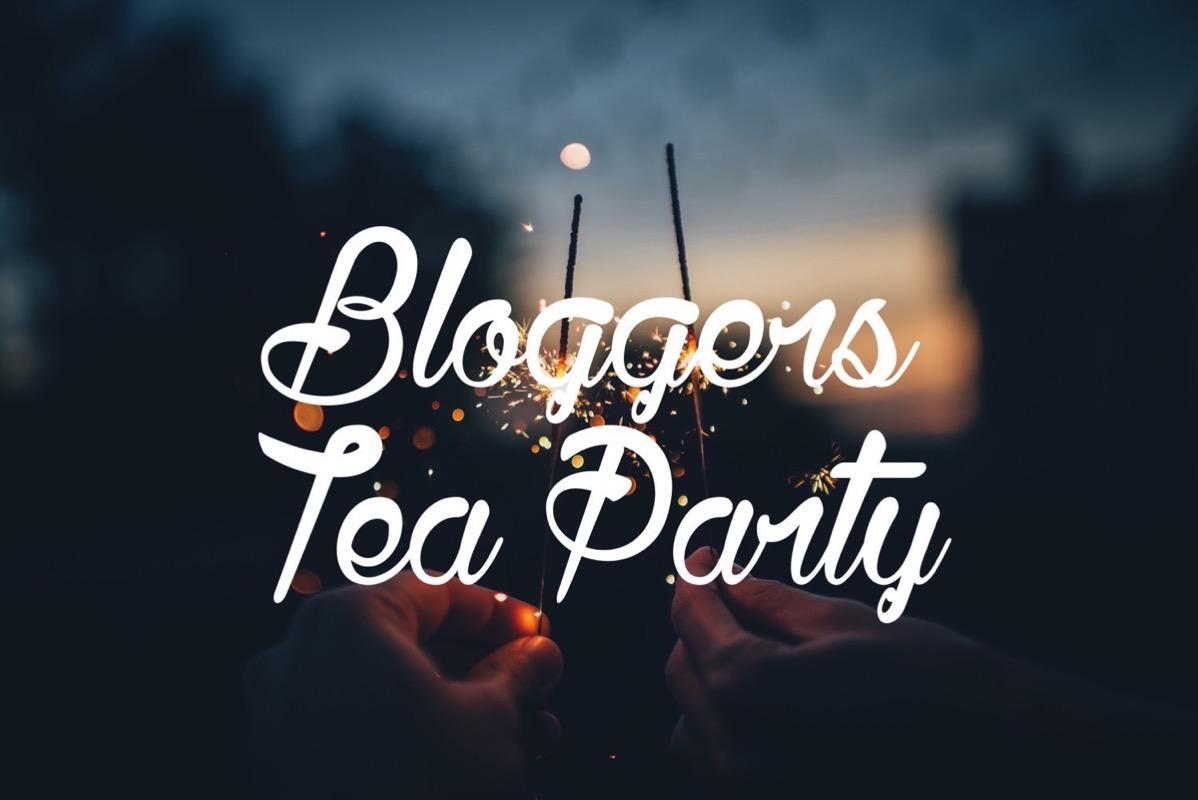 Bloggers tea party 1