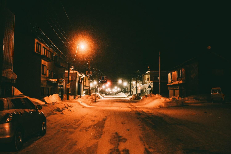 下川町の夜