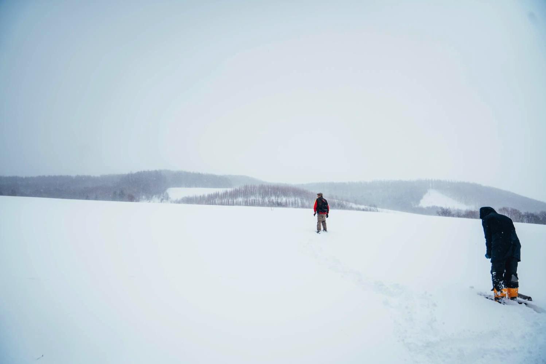 下川町の大雪原