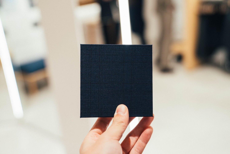 Fabric tokyo combat wool 0020