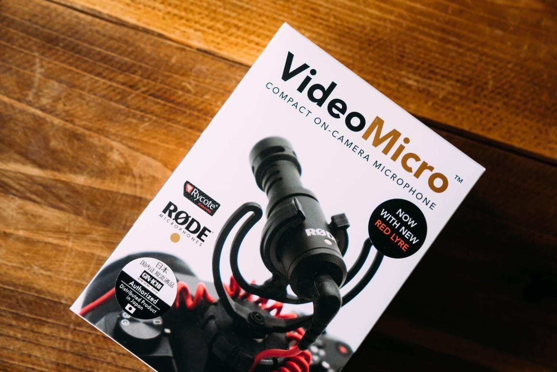 小型マイク RODE ロード VideoMicro レビュー 0001