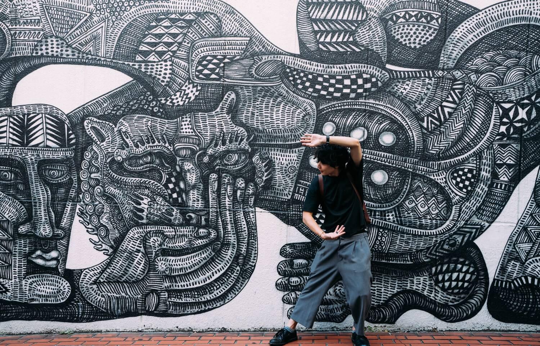 Insta genic wall harajuku 0001