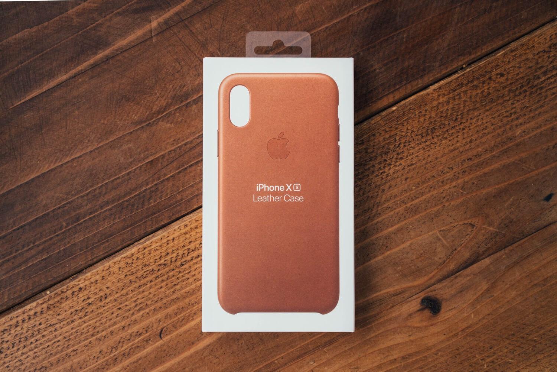 Iphonexs apple leathercase 0001