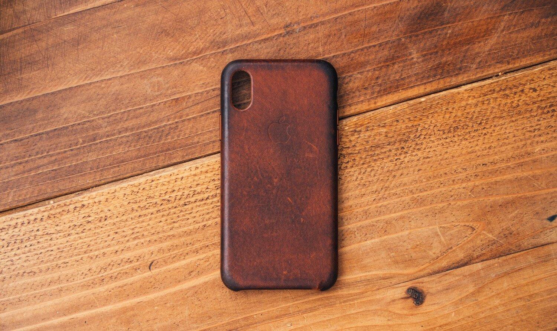 Iphonexs apple leathercase 0002