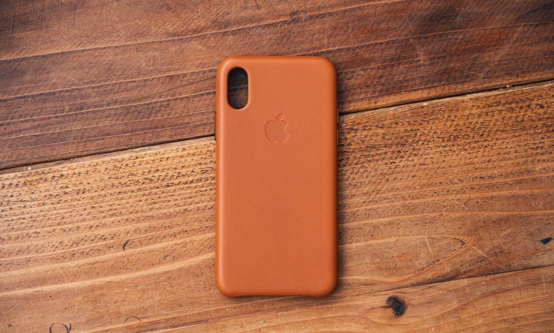 Iphonexs apple leathercase 0003