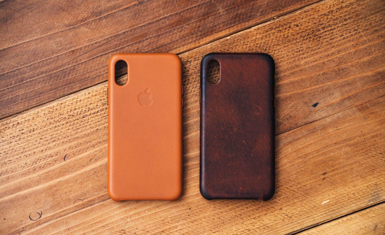 Iphonexs apple leathercase 0004