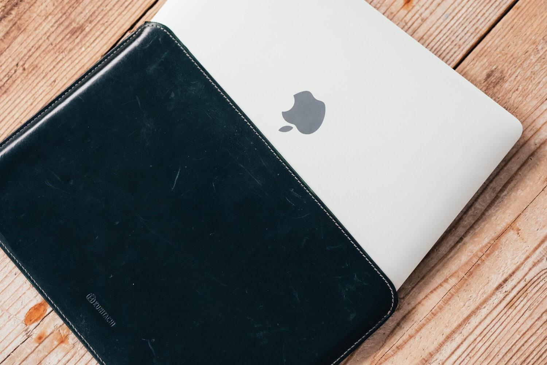 Kunitachi macbook leather case review 0003