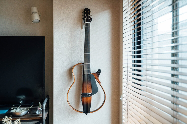 Silent guitar yamaha SLG200S 0005